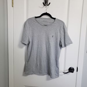 ALLSAINTS Grey Tonic Crew Tshirt